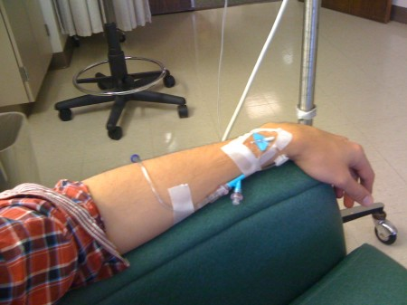 Casey Quinn - Chemo Infusion