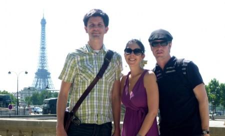 Casey, Jill & Ben in Paris